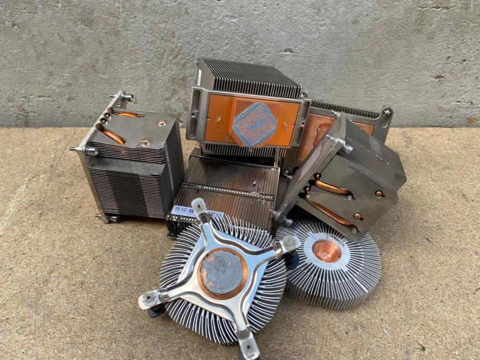 ingeleverde koelers van aluminium en koper