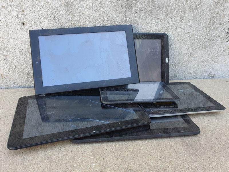 tablets en ipad inleveren